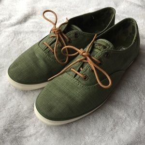 Keds Army Green Canvas Sneaker